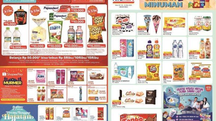 KATALOG Promo Alfamart Kamis 27 Mei 2021: Deterjen, Produk Makanan dan Susu Harga Murah, Ada Gratis