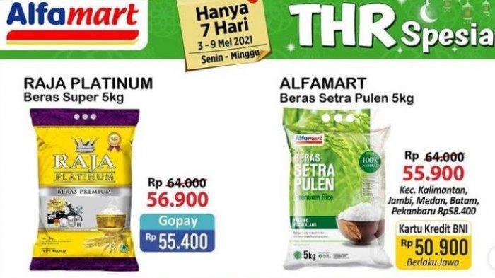 UPDATE Katalog Alfamart Selasa 4 Mei 2021, Promo THR Keju, Terigu & Susu Kaleng Buat Kue Lebaran