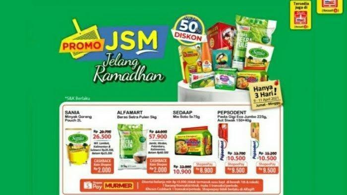 Katalog Promo JSM Alfamart Terbaru Jumat 9 April 2021, Shampoo, Beras, Minyak Goreng, Kecap Murah