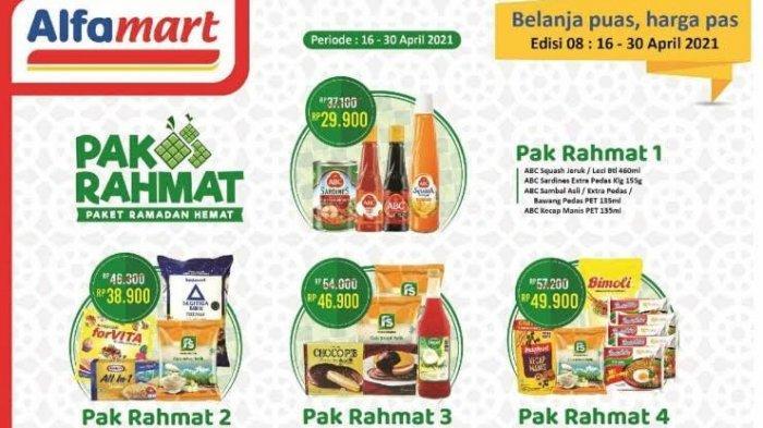 Katalog <a href='https://manado.tribunnews.com/tag/alfamart' title='Alfamart'>Alfamart</a> Terbaru Selasa 20 April 2021, Paket Buka Puasa Teh Pucuk/Sosro, Susu, Sirup, Roti