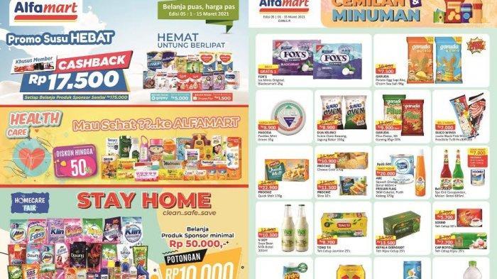 Katalog Promo Alfamart Terbaru Selasa 9 Maret 2021, Pembersih Lantai, Tisu, Shampo Serba Rp10.000