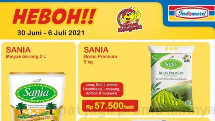 Katalog Promo Indomaret Kamis 1 Juli 2021, Minyak Goreng, Beras, Susu Turun Harga, Bumbu Masak Murah
