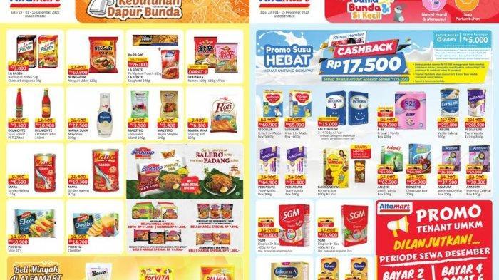 KATALOG Promo Alfamart Kamis 17 Desember 2020 : Kebutuhan Dapur, Popok Bayi, Susu Lagi Diskon, Cek