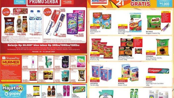 Katalog Promo Alfamart Minggu 3 Januari 2021: Beras, Minyak Goreg, Popok dan Susu Bayi Turun Harga