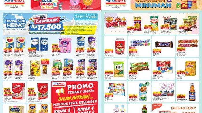 Katalog Promo Alfamart Hari Ini Senin 28 Desember 2020: Deterjen, Minyak Goreng dan Susu Turun Harga