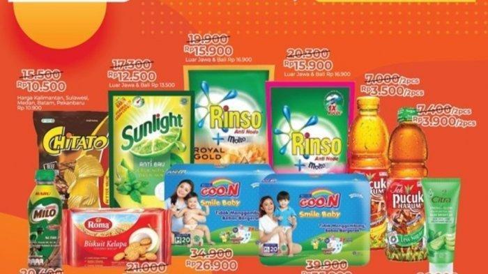 KATALOG Promo Alfamart Kamis 18 Februari 2021: Deterjen, Shampo, Snack dan Minuman Lebih Murah Gopay