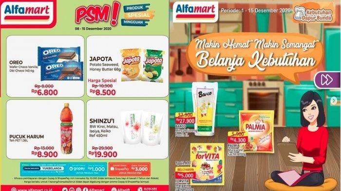 KATALOG Promo Alfamart Selasa 15 Desember: Kebutuhan Dapur, Perlengkapan Bayi Lebih Murah, Diskon 50