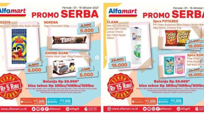 KATALOG Promo Alfamart Kamis 7 Oktober 2021: Belanja Kebutuhan Bayi hingga Bumbu Masak Murah Banget