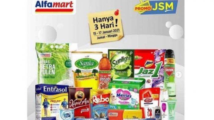 Katalog Promo Alfamart Minggu 17 Januari 2021: Minyak Goreng, Beras, Susu dan Popok Bayi Turun Harga