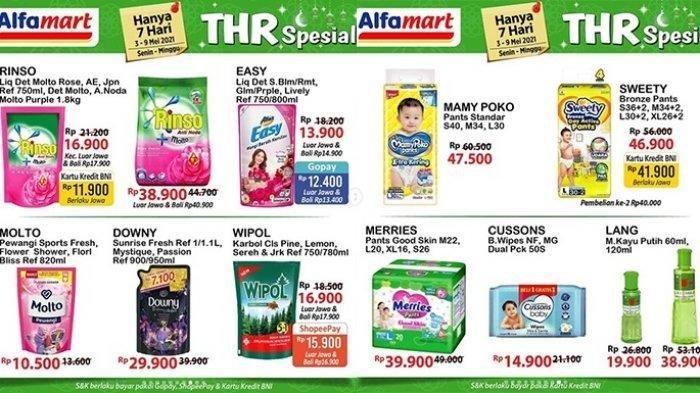 KATALOG Promo JSM <a href='https://manado.tribunnews.com/tag/alfamart' title='Alfamart'>Alfamart</a> Sabtu 8 Mei 2021:Biskuit hingga Beras Diskon, Bimoli dan Gula Bisa Gratis