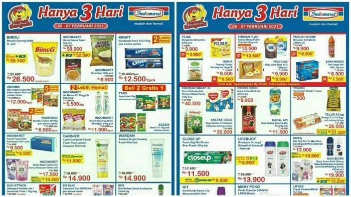 KATALOG Promo JSM Indomaret Jumat 5 Februari 2021: Belanja Super Murah Minyak Goreng, Beras, Susu
