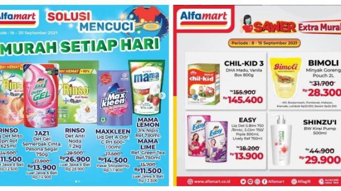 Katalog Promo Alfamart Selasa 14 September 2021, Bahan Kue Diskon 50%, Kebutuhan Bunda Murah