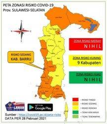 Sisa 17 Pasien Covid-19 di Kabupaten Barru