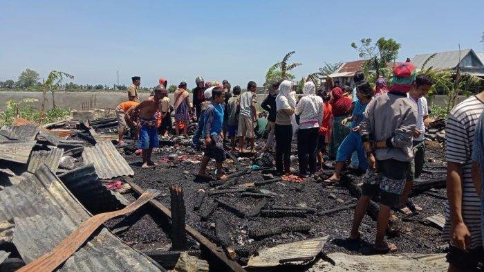 Hanguskan Satu Rumah, Penyebab Kebakaran di Jeneponto Diduga Arus Pendek Listrik