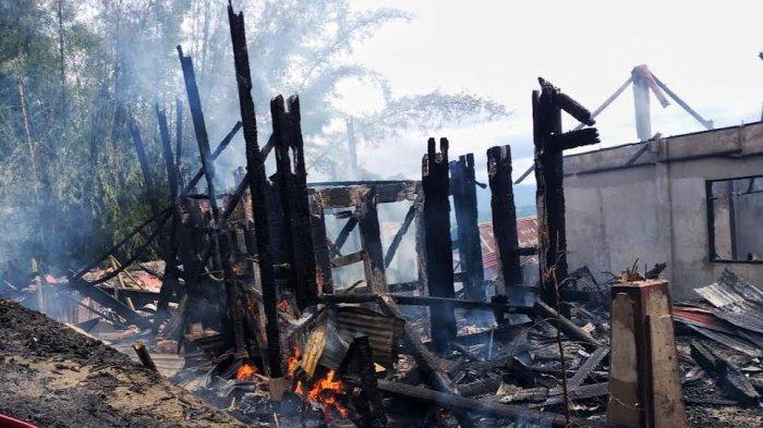 Kerugian Akibat Kebakaran di Tongkonan Pata' Toraja Utara Capai Rp 1 Miliar