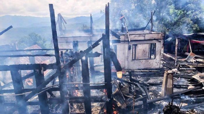 Pasca Kebakaran di Sopai Toraja Utara, Jenazah Pendeta Uzuk Langsung Dikuburkan