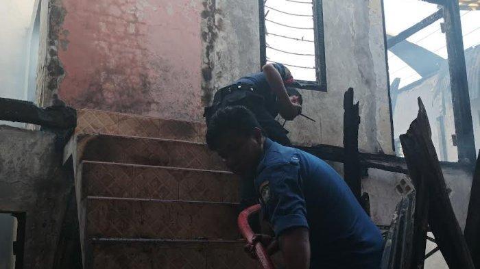 Empat Rumah Hangus Terbakar di Poros Pallangga Gowa