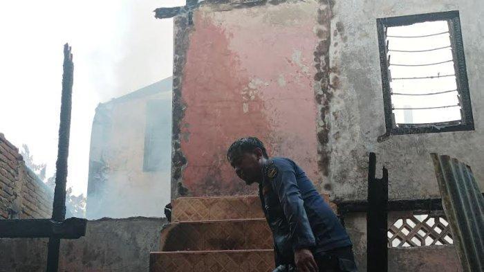 4 Rumah Hangus Terbakar di Poros Pallangga Gowa, Damkar Alami Kendala ini Sebelum Lakukan Pemadaman