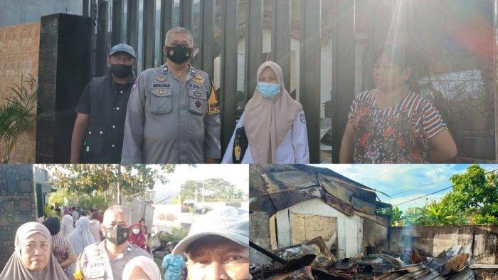 Kebakaran di Tanjung Alang Makassar, Kurugian Ditaksir Ratusan Juta Rupiah