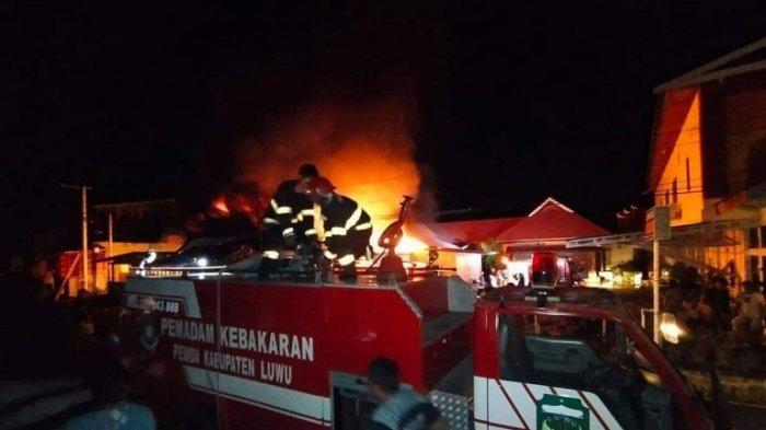 Jadi Korban Kebakaran di Pammanu Luwu, Anshari: Terima Kasih Semua yang Membantu