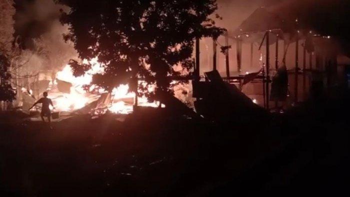 Kronologi Kebakaran di Desa Pananrang Pinrang yang Tewaskan Megawati