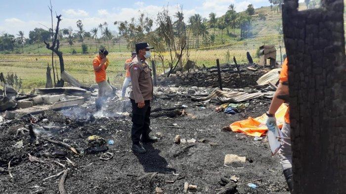 Keluarga Korban Kebakaran di Pokok Bulo Jeneponto Tolak Autopsi