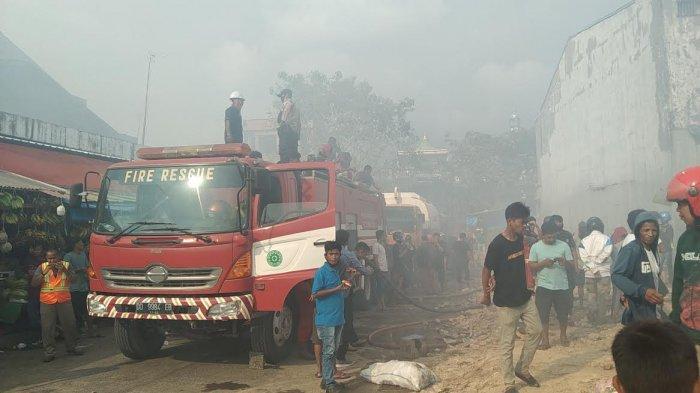 Kronologis Kebakaran Pasar Sentral Pangkep, Api Berawal dari Toko Aksesoris