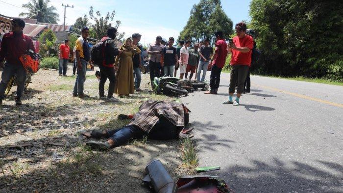 FOTO-FOTO; Milik Tewas Kecelakaan di Jalan Poros Malili - Wotu Luwu Timur - kecelakaan-lalu-lintas-di-lutim-1.jpg