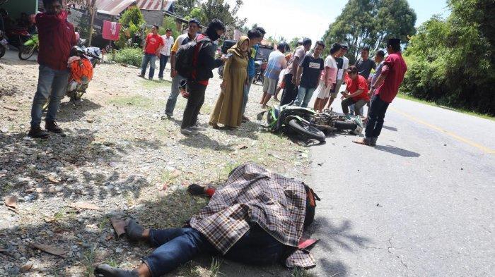FOTO-FOTO; Milik Tewas Kecelakaan di Jalan Poros Malili - Wotu Luwu Timur - kecelakaan-lalu-lintas-di-lutim-2.jpg