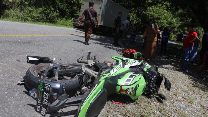 FOTO-FOTO; Milik Tewas Kecelakaan di Jalan Poros Malili - Wotu Luwu Timur - kecelakaan-lalu-lintas-di-lutim-4.jpg