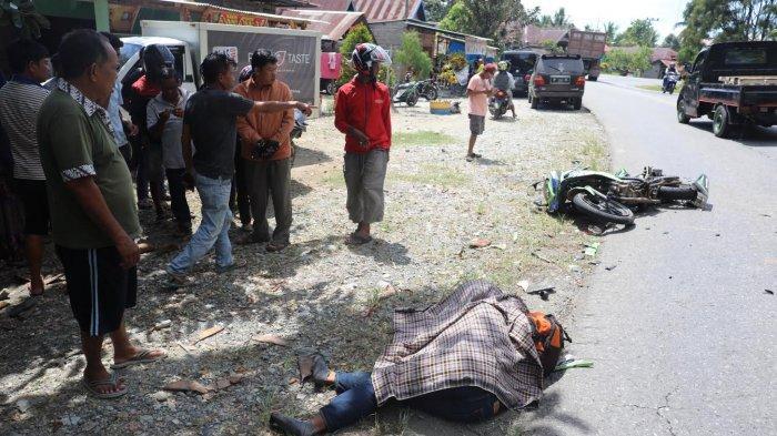 FOTO-FOTO; Milik Tewas Kecelakaan di Jalan Poros Malili - Wotu Luwu Timur - kecelakaan-lalu-lintas-di-lutim-5.jpg