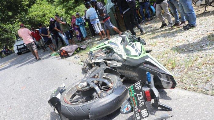 1 Tewas, Truk vs Honda CBR di Luwu Timur, Sopir Pakai Celana Loreng TNI