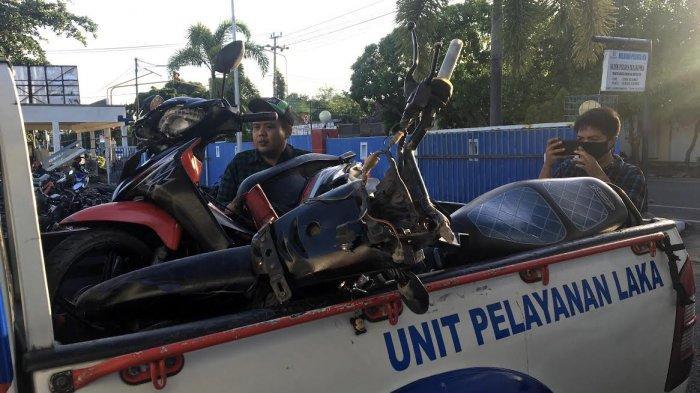 BREAKING NEWS; Pengendara Mobil Tabrak 2 Motor di Kalumeme Bulukumba, 1 Orang Meninggal