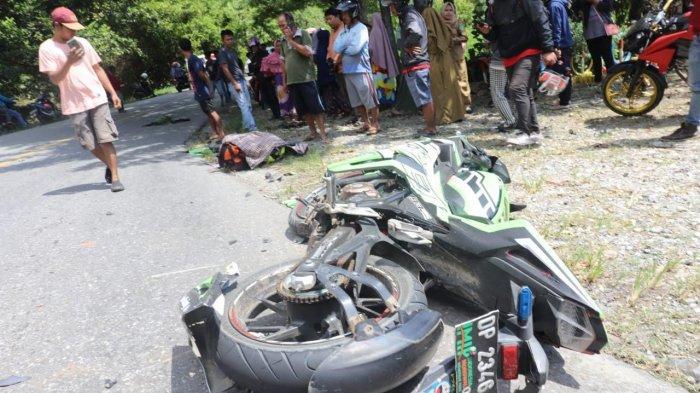 BREAKING NEWS: Honda CBR vs Truk di Luwu Timur, 1 Orang Tewas