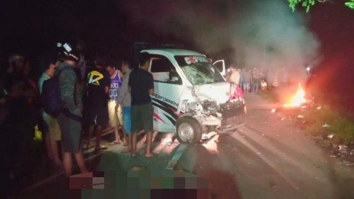 Kecelakaan Maut di Soppeng, Dua Orang Tewas hingga Motor Terbakar