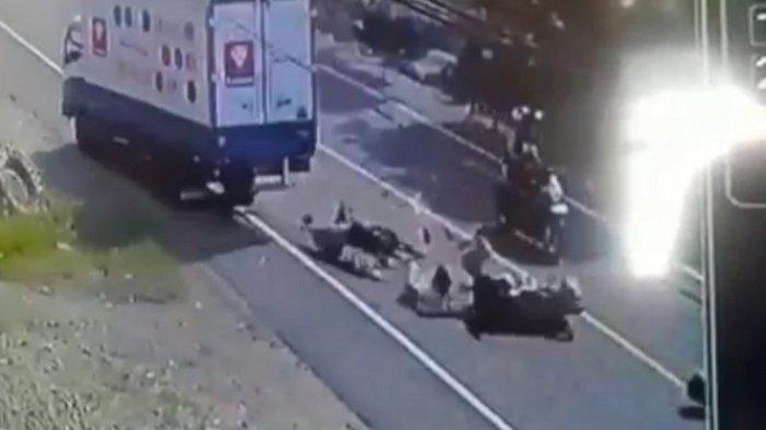 BREAKING NEWS: Lakalantas di Suppa Pinrang, 2 Pengendara Motor Tewas