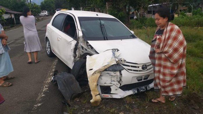 Kecelakaan Etios Valco vs Avanza di Tugu Kecamatan Bengo Subuh Tadi, Begini Kondisi Penumpang