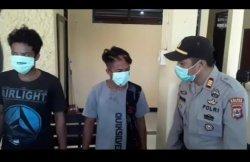 Dua Pencuri Ikan Berkedok Keterbatasan Ekonomi Diringkus Polsek Mattiro Sompe Pinrang