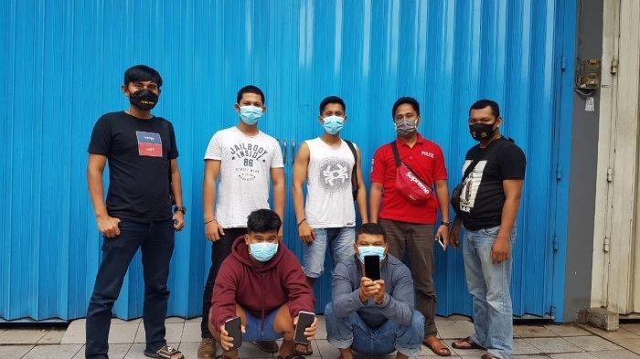 Ayah dan Anak Ditangkap saat Mencopet di Pasar Tanralili, Punya Peran Berbeda, Bapak Eksekutor