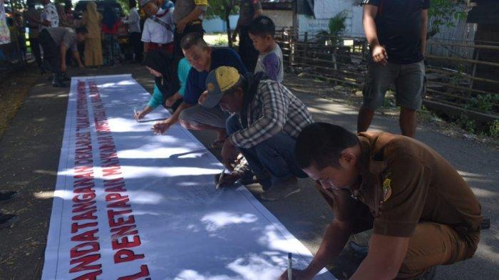 Jalan Sehat Polres Sidrap, Warga Gelar Deklarasi Anti Kerusuhan