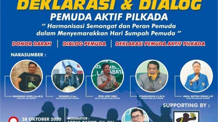 Peringati Hari Sumpah Pemuda, KNPI Soppeng Akan Deklarasi Pemuda Aktif Pilkada