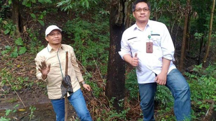 Kegiatan penanaman pohon bersama oleh tim Bang Pesona KLHK dengan anggota Kelompok Usaha Perhutanan Sosial (KUPS) Minasa Te'ne dan KUPS Lebang Manai di Desa Kapita, Rabu (7/4/2021).