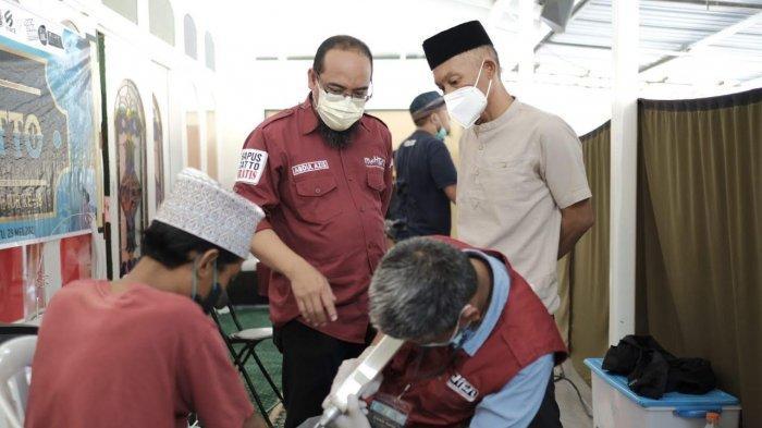 Spesial Ultah Lutim, Mahtan Hapus Tato Gratis di Masjid Istiqomah Sorowako Luwu Timur