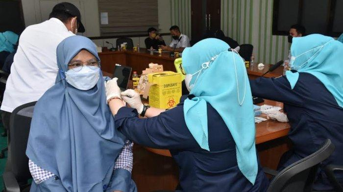 Sasaran 266.414 Orang, Baru 15 Persen Warga Pangkep Terima Vaksin Dosis Pertama