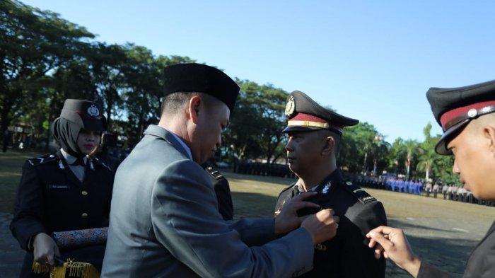 HUT ke-73 Bahayangkara, 5 Personel Polres Pangkep Dapat Bintang Bhayangkara Nararya