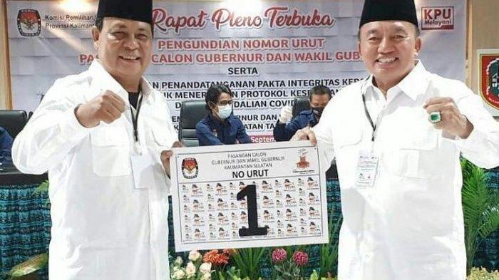 Hasil Pilgub Kalsel: Cawagub Terkaya Indonesia Muhidin Kalahkan Mantan Wamen, Selisih 8.156 Suara