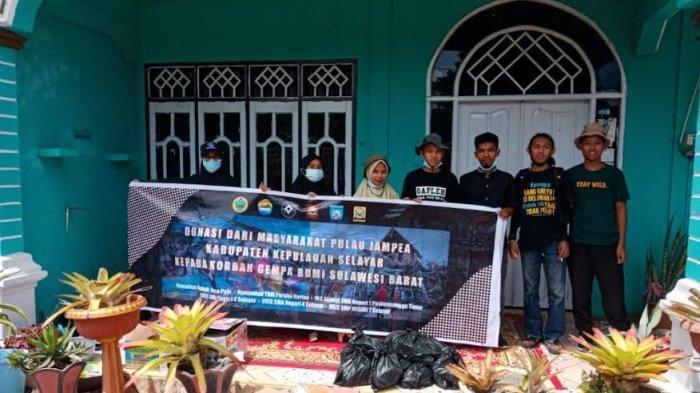 Galang Dana untuk Sulbar, Kelompok Kolaborasi Kemanusiaan Selayar Kumpulkan Rp 13 Juta Lebih