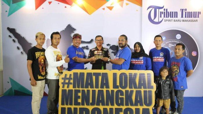 Aremania Makassar Selamati Tribun Timur, Mas Jenggot: Terus Dukung Sepak Bola Indonesia