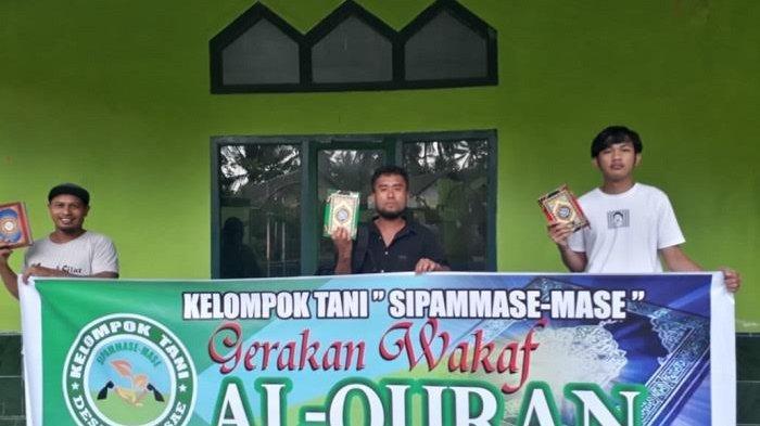 Kelompok Tani Sipammase-Mase Bulukumba Bantu Alquran TK TPA Masjid Hajaratul Aswad