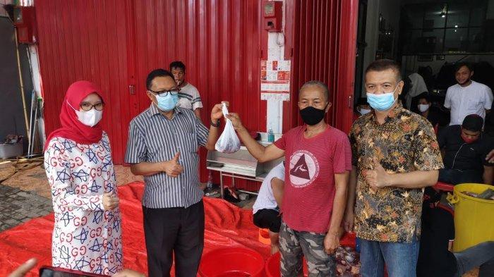 PDIP Sulsel Sembelih 126 Hewan Kurban, ARW Sumbang 33 Sapi